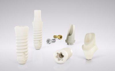 Implant dentaire en zircone